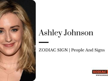 Ashley Johnson zodiac