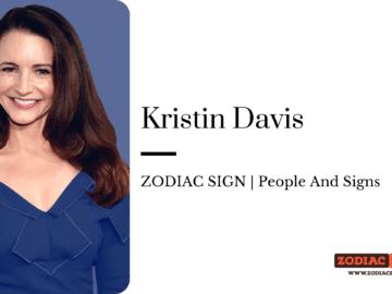 Kristin Davis zodiac
