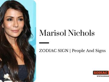Marisol Nichols zodiac