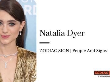 Natalia Dyer zodiac