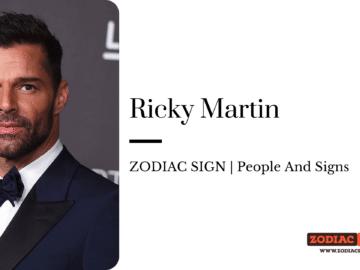 Ricky Martin zodiac