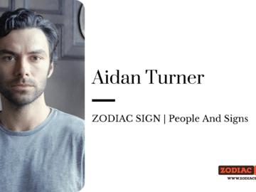 Aidan Turner zodiac