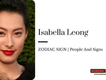 Isabella Leong zodiac