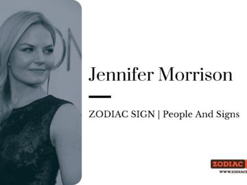 Jennifer Morrison zodiac