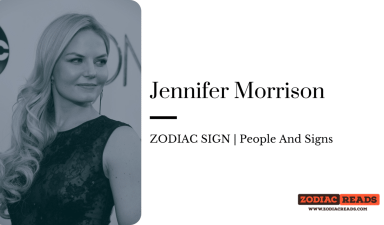 Jennifer Morrison- ZODIAC SIGN | People And Signs