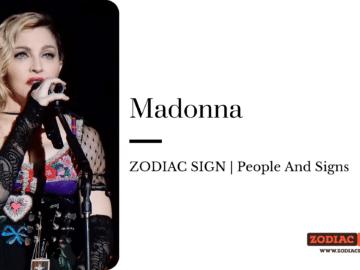 Madonna zodiac