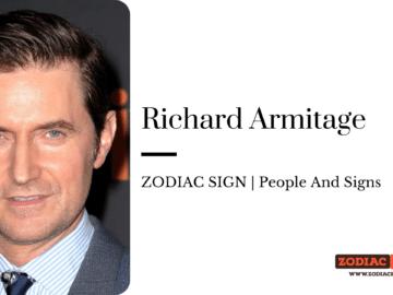 Richard Armitage zodiac